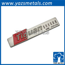 color fill metal custom car emblem badge logos