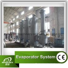Huile / Miel / Confiture / Jerry Scraper Evaporator (homologué CE)