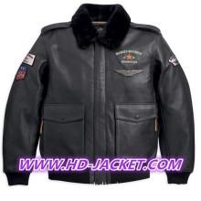 Harley-Davidson Mens A-2 Bomber Jacket