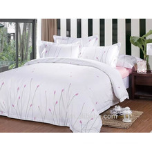 Pure and fresh flowers bedding,cotton printed home textile,full set bedding set