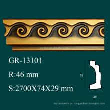 Alta densidade Produtos antigos PU canto molduras decorativas para decoração de teto