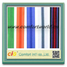 Nylon Zipper Polyester & Nylon Teeth