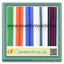 Fermeture à glissière couleur rouleau avec extracteur