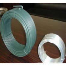 Fio galvanizado de 0,6 mm 0,5 kg de bobina pequena fio recozido preto