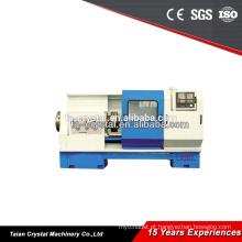 torno cnc fabricantes de máquinas de rosqueamento de tubos CQK1322