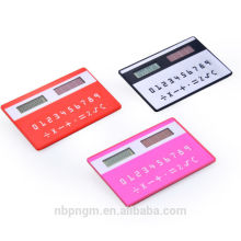 Mini Super Thin Credit Card Shape Pocket Calculator