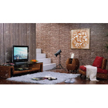 Neues Design Wasser Hyazinthen TV Schrank (Hand gewebt von Korbweide, Hyazinthen & Holzrahmen)