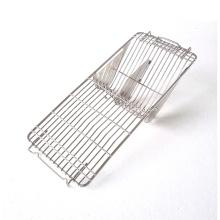 Cage et couvercle pour panier à couverts