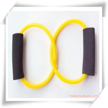 Doppel-Kreis TPR Brust Expander / Resistance Tubing für Promotion