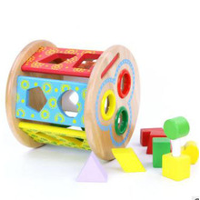 Wooden Shape Sorter Intelligence Toys