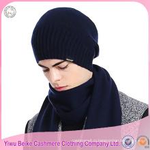 100% кашемир kintted шляпа шарф набор акций