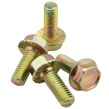 Tornillo de brida hexagonal estándar ANSI o DIN (M6X16)