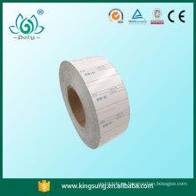 etiqueta sin revestimiento, etiquetas de papel encerado