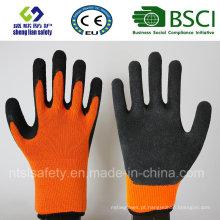 Luvas de látex, luvas de segurança, luvas de trabalho (SL-509)