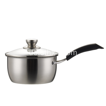 Edelstahl Mini Single Handle Milch Pan