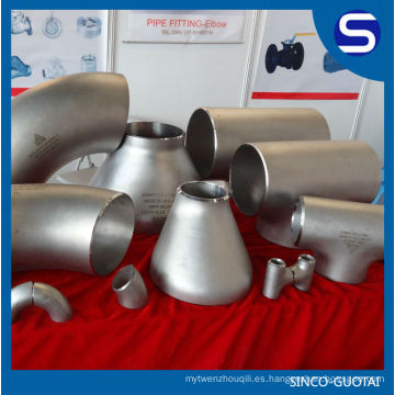 Instalación de plomería de acero inoxidable ANSI B16.9