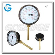 High quality black steel bimetal instant read thermometer