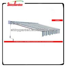 Aluminium Markise Teile Fenster versenkbare Dach Sun Shade Markise