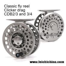 Clicker clássico e truta de lingueta Fly Reel Clicker Fly Reel