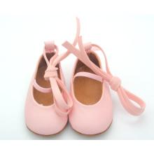 2016 Großhandel weiche alleinige Baby Leder Schuhe Mädchen Kleid Schuhe