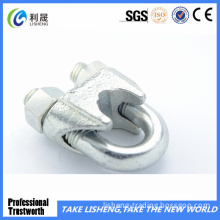Galvanized Steel Wire Rope Clip Steel Rod Clamp