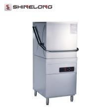 K150 Hochtemperatur-waschendes Edelstahl-Hotel-Restaurant-Handels-Spülmaschine für Verkauf