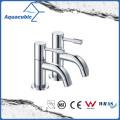 Two Deck-Mount Polish Chromed Bathroom Basin Faucet (AF6000-6)