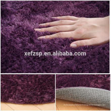 accessoire de maison chambre à coucher décoration tapis de tapis shaggy polyester