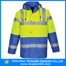 Custom Men Winter Outdoor Reflective Safety Fishing Jackets