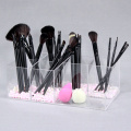 Klar Akryl Makeup Brush Organizer