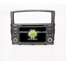 2din stereo gps android car dvd player for mitsubishi pajero V97 V93 2006-2011with gps bluetooth wifi
