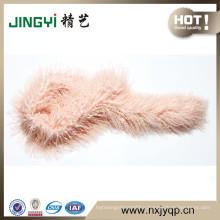 hand made fur scarf