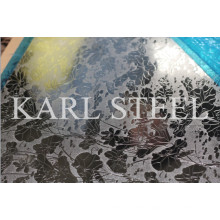 201 Stainless Steel Sheet etched/embossed sheet