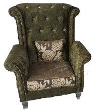 Tigre de alta calidad silla tela sofá silla (2098)