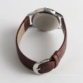 Los hombres de cuarzo de la manera importan el movimiento del reloj de la importación, reloj trasero del acero inoxidable