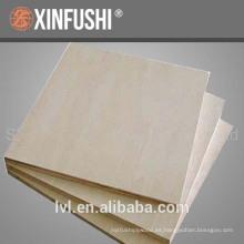 Tablero del mobiliario tablero del abedul hecho en China usado para el gabinete