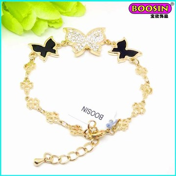 Chinesa Nova Moda Custom atacado encantos pulseira de jóias de ouro