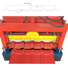 DX Roofing Glazed Tile Roll Forming Machine
