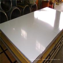 304 304L 316 316L professionnel en acier inoxydable feuille / plaque