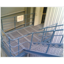Walkways Usado High Strength 32 * 5 Galvanized Steel Grating