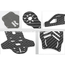 Corte de carbono para drones, personalizado cnc folha de fibra de carbono 3 K sarja folha de fibra de carbono fosco 1mm 2mm 3mm 4mm 5mm 6mm