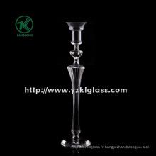 Bougeoir en verre pour décoration intérieure par SGS
