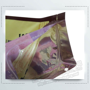 Custom Printed Zipper Plastic Nuts Packing Bags