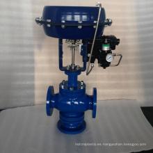 venta caliente POV hecho barato válvula de control de 3 vías con actuador jis20