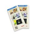 Impresión de folleto de Customzied de papel de alta calidad
