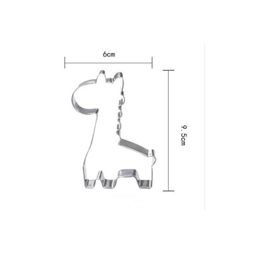 girafe forme biscuit personnalisé cookie cutter outils de cuisson