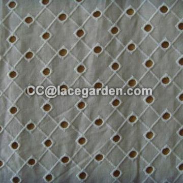 100% Cotton Lace Fabric