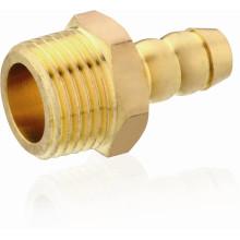T1119 Rosca macho Conexão de latão para gasoduto