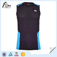 OEM Mens Dry Fit Nylon Esportes Singlet Sportswear