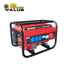 2500watt 2500w 3 Phase Gasoline Generator Price List